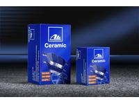 ATE Ceramic MERCEDES-BENZ A-CLASS W169 W245 MERCEDES-BENZ B-CLASS